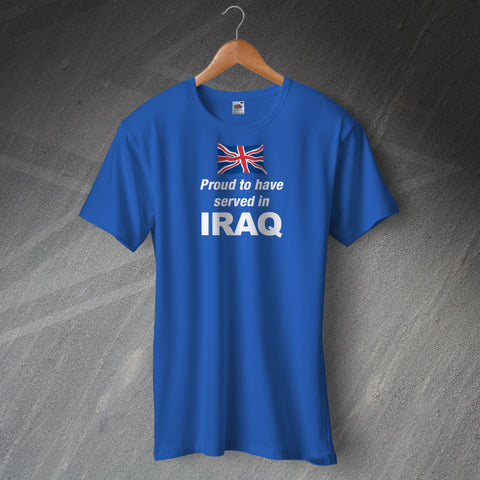 Proud to Have Served In Iraq T-Shirt