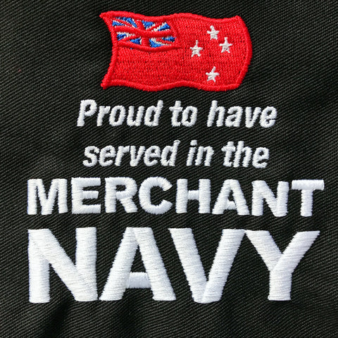 New Zealand Merchant Navy Embroidered Badge