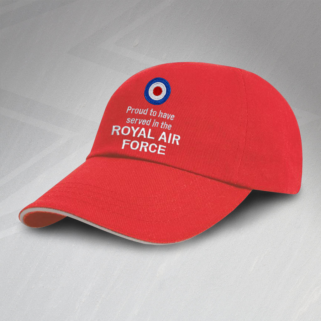 RAF ROYAL AIR FORCE REGIMENT BASEBALL CAP