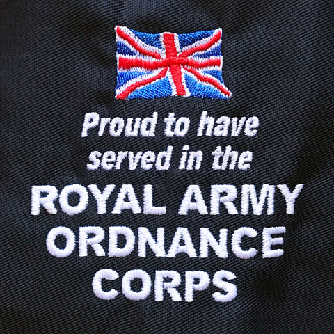 Royal Army Ordnance Corps Embroidered Badge