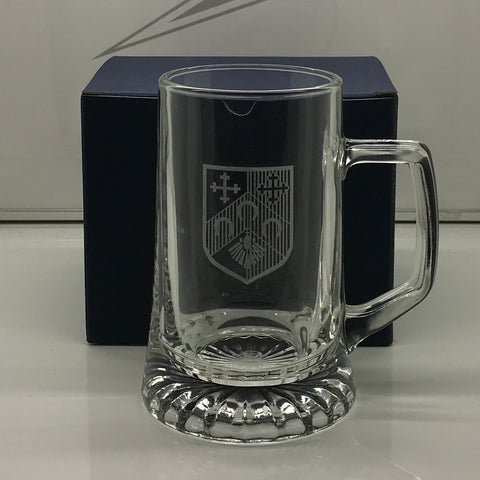 QPR Football Glass Tankard Engraved 1953