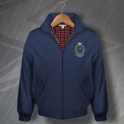 Queen's Regiment Harrington Jacket Embroidered