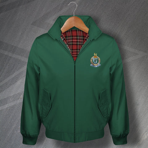 Queen's Royal Irish Hussars Harrington Jacket Embroidered