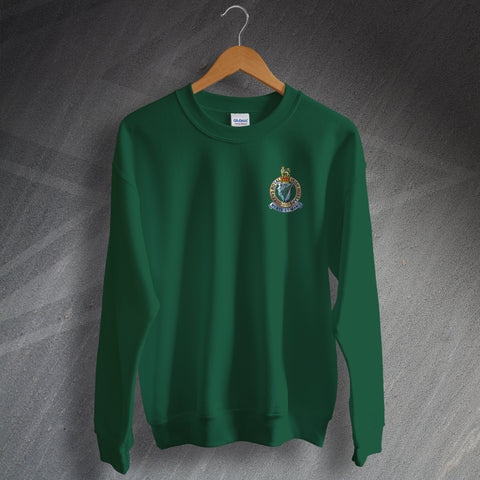 Queen's Royal Irish Hussars Sweatshirt with Embroidered Badge