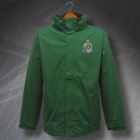 Queen's Royal Irish Hussars Waterproof Jacket with Embroidered Badge