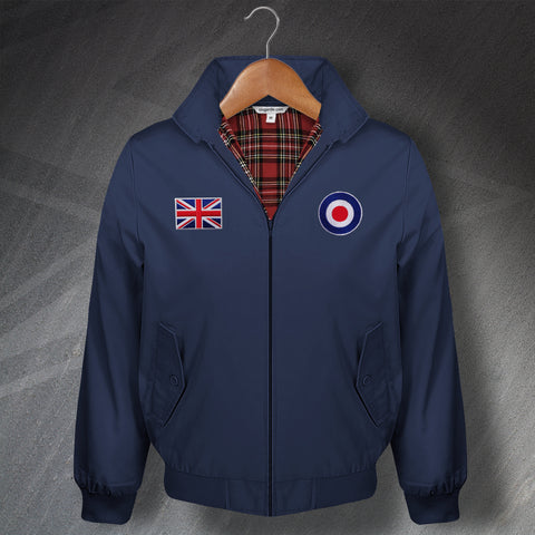 MOD Harrington Jacket Embroidered Roundel & Union Jack Flag