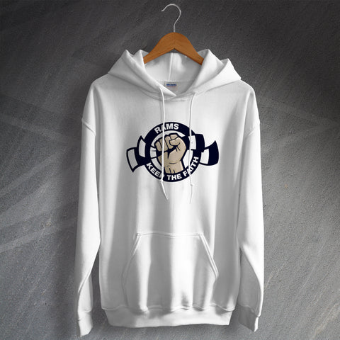 Derby Football Hoodie Rams Keep The Faith