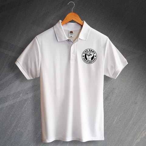 Derby Football Polo Shirt Printed The Rams Pride of Derbyshire