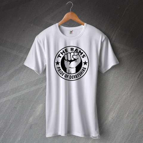 Derby Football T-Shirt The Rams Pride of Derbyshire