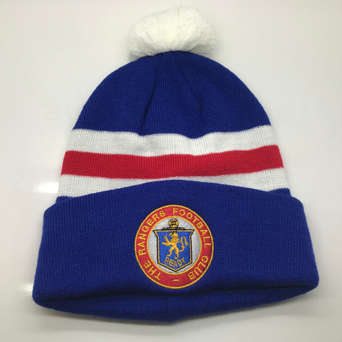 Rangers Football Bobble Hat Embroidered 1959