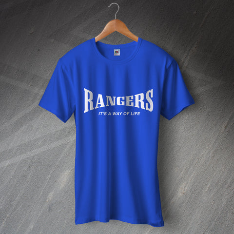 Rangers Football T-Shirt It's a Way of Life