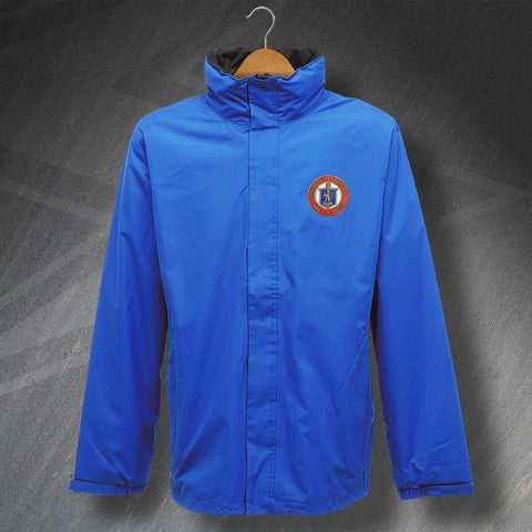 Retro Rangers Waterproof Jacket with Embroidered Badge