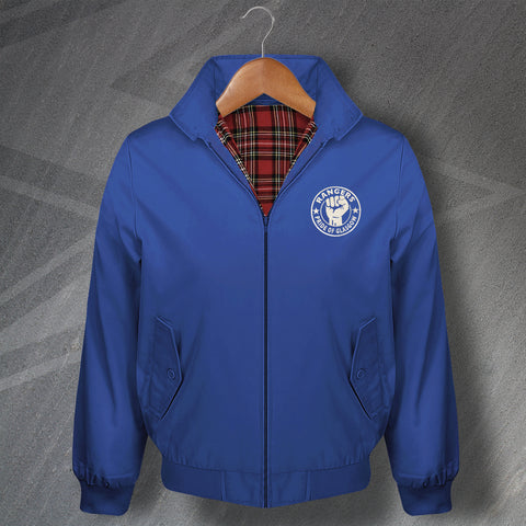 Rangers Pride of Glasgow Embroidered Classic Harrington Jacket