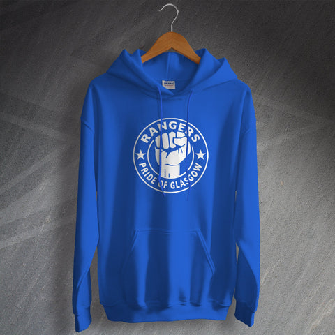 Rangers Football Hoodie Pride of Glasgow
