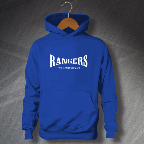 Rangers It's a Way of Life Children's Hoodie