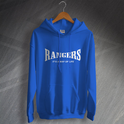 Rangers Football Hoodie It's a Way of Life