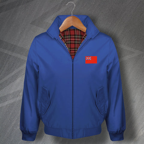 Red Ensign Embroidered Classic Harrington Jacket