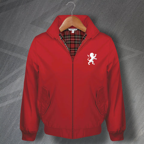 The Red Lion Pub Harrington Jacket Embroidered Silhouette