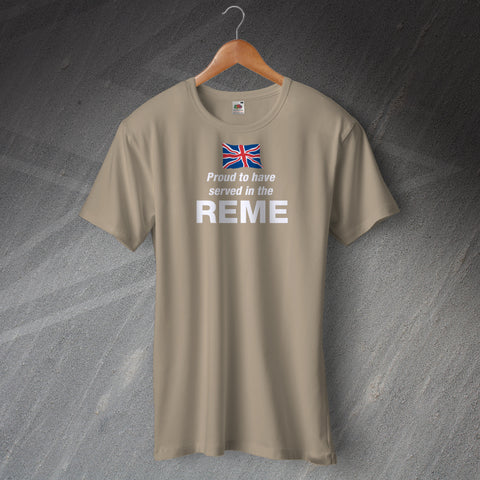 Proud to Have Served T-Shirt with any Service or Regiment