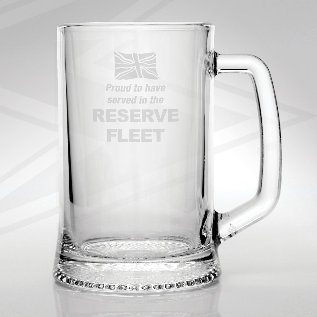 Reserve Fleet Glass Tankard