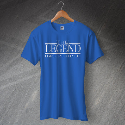 Retirement T-Shirt The Legend Has Retired