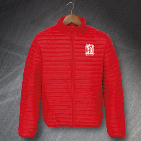 Retro Aberdeen Padded Jacket with Embroidered Badge