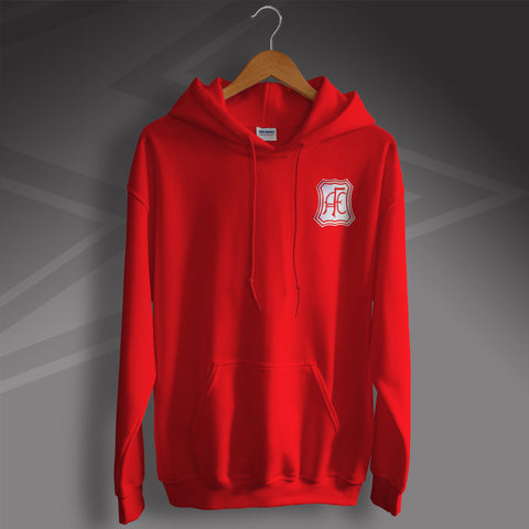 Retro Aberdeen Hoodie with Embroidered Badge