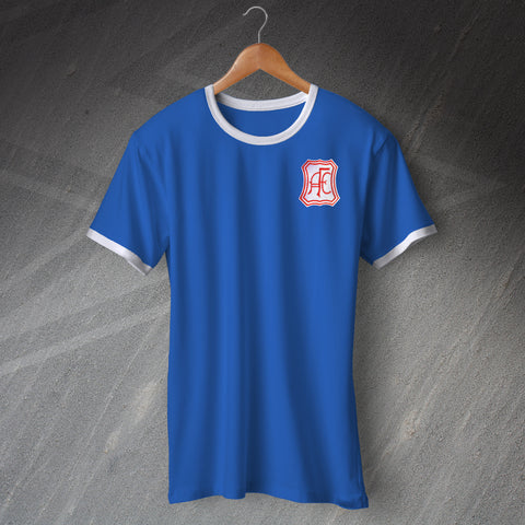 Retro Aberdeen Football Shirt