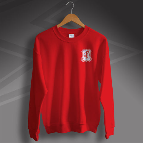 Retro Aberdeen Sweatshirt with Embroidered Badge