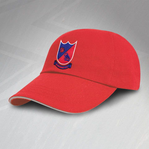 Retro Aldershot FC Baseball Cap with Embroidered Badge