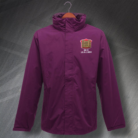 Arbroath Football Jacket Embroidered Waterproof