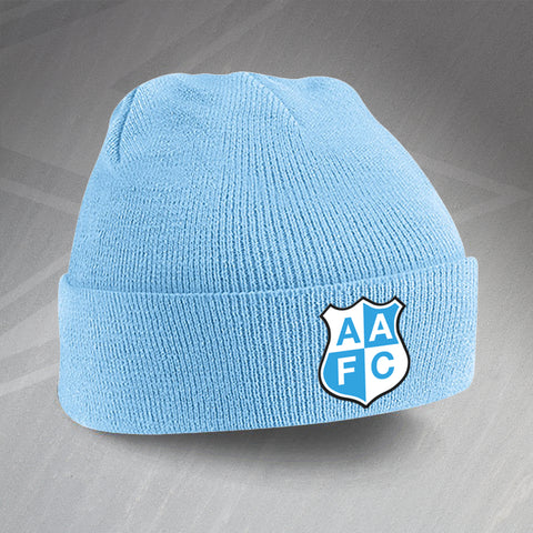City Football Beanie Hat Embroidered Ardwick AFC