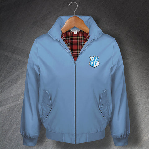 Man City Football Harrington Jacket Embroidered Ardwick AFC