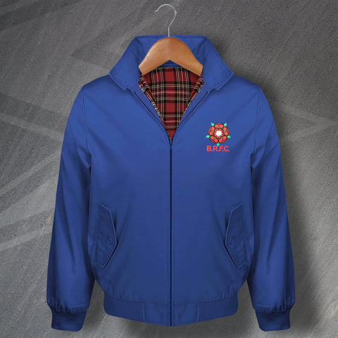 Retro Blackburn Harrington Jacket with Embroidered 1974 Badge