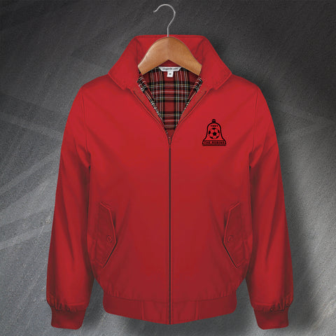 Retro Bosham The Robins Classic Harrington Jacket with Embroidered Badge