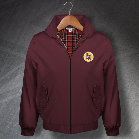 Retro Bradford Classic Harrington Jacket with Embroidered Badge