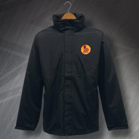 Retro Bradford Waterproof Jacket with Embroidered Badge