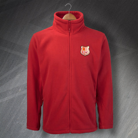 Retro Brentford Fleece with Embroidered Badge