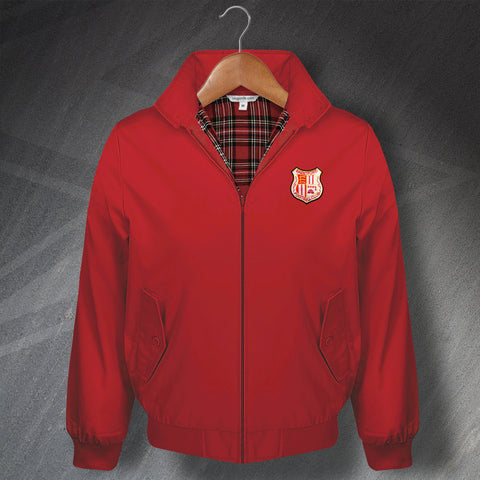 Brentford Fotball Harrington Jacket Embroidered 1971