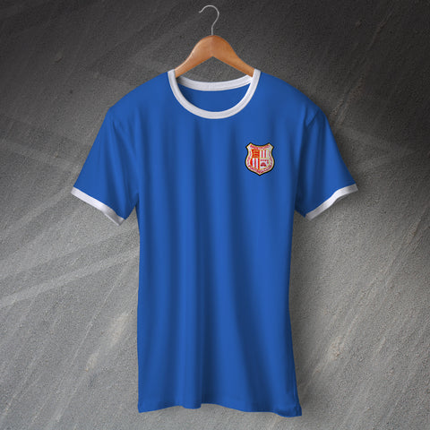 Brentford Football Ringer Shirt