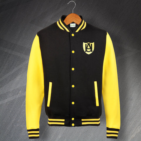 Cambridge Football Varsity Jacket Embroidered Abbey United 1947