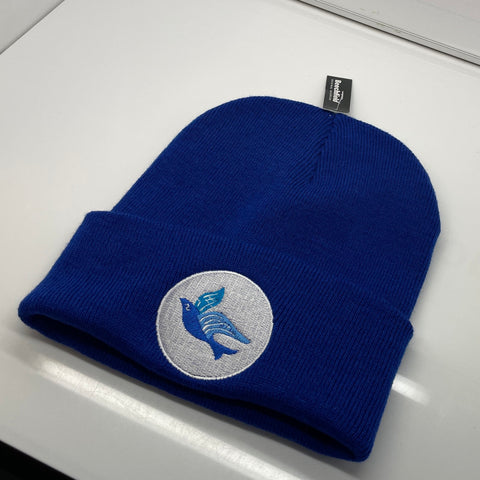 Cardiff Football Beanie Hat Embroidered 1969