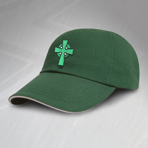 Retro Celtic Baseball Cap with Embroidered 1888 Badge