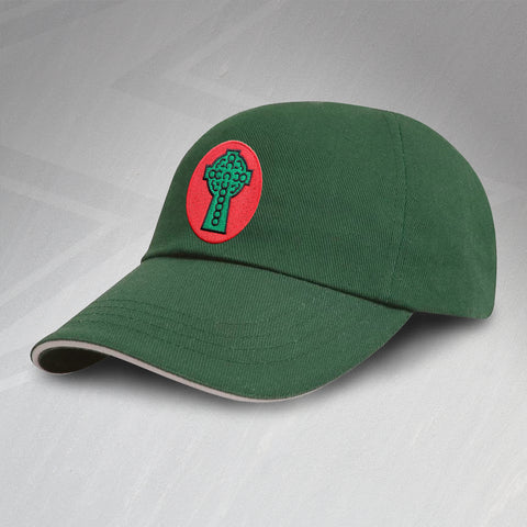 Retro Celtic Baseball Cap with Embroidered 1890 Badge