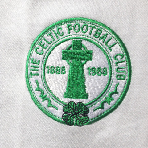 Retro Celtic Centenary Embroidered Badge