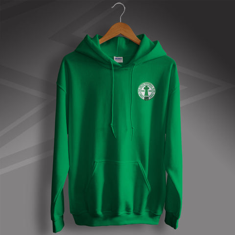 Retro Celtic Centenary Hoodie with Embroidered Badge