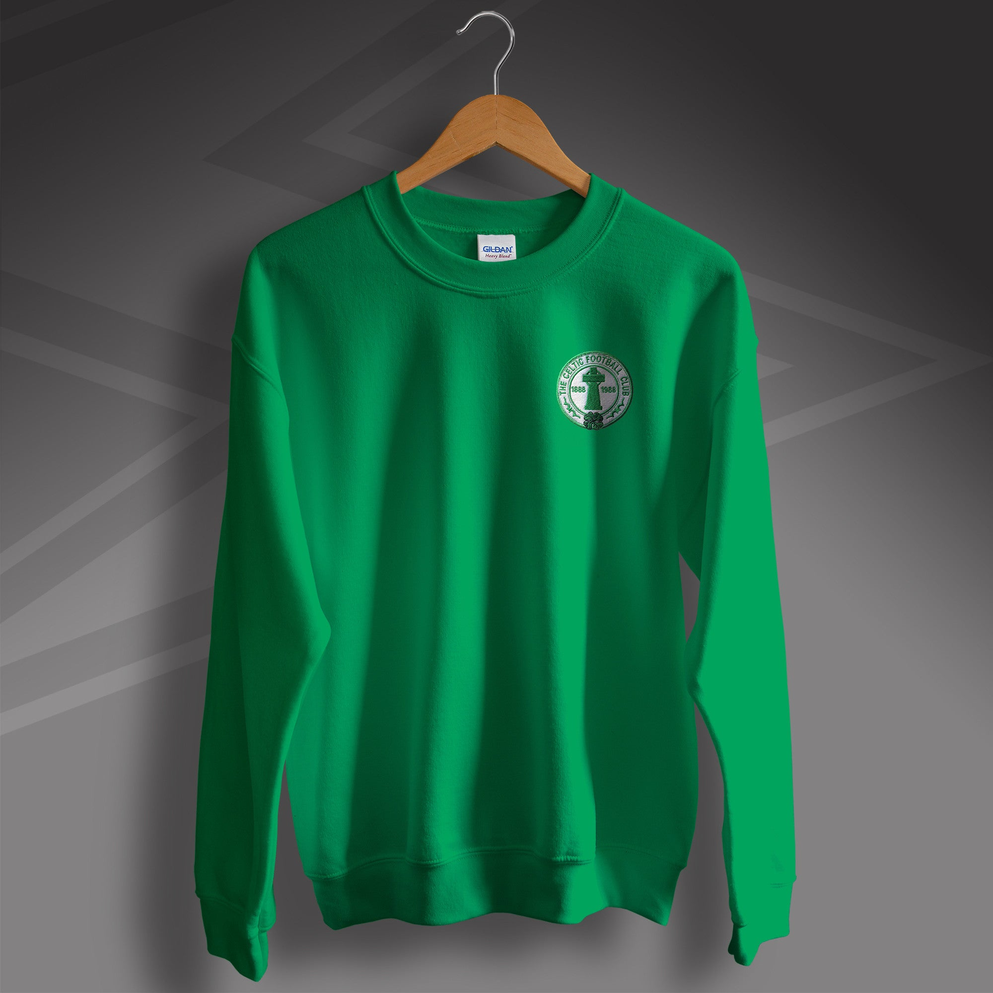 ac499492896c5 Retro Celtic Sweater with Embroidered Badge for Sale – Sloganite.com