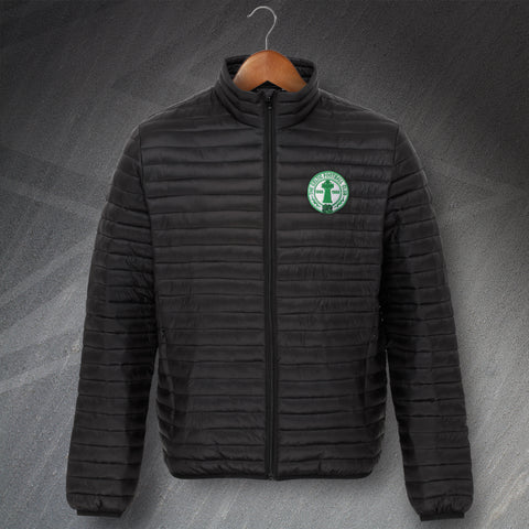 Celtic Football Jacket Embroidered Fineline Padded Centenary