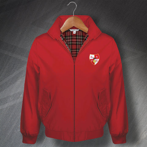 Charlton Football Harrington Jacket