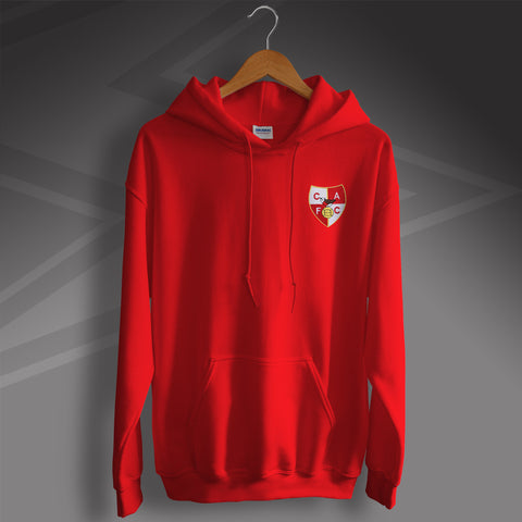Charlton Football Hoodie Embroidered 1946